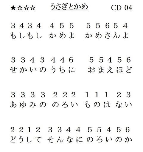 03『うさぎとかめ』(L1)