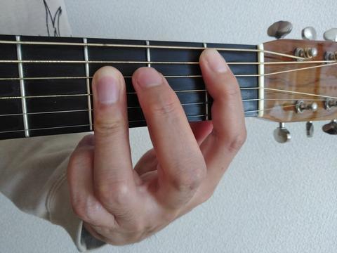 B♭指2本