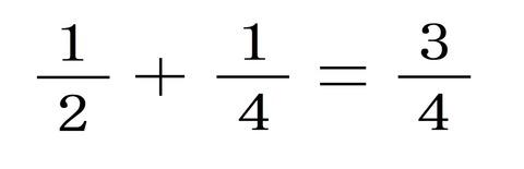 分数の足し算1