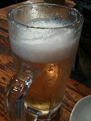 炭屋でとりあえず生ビール