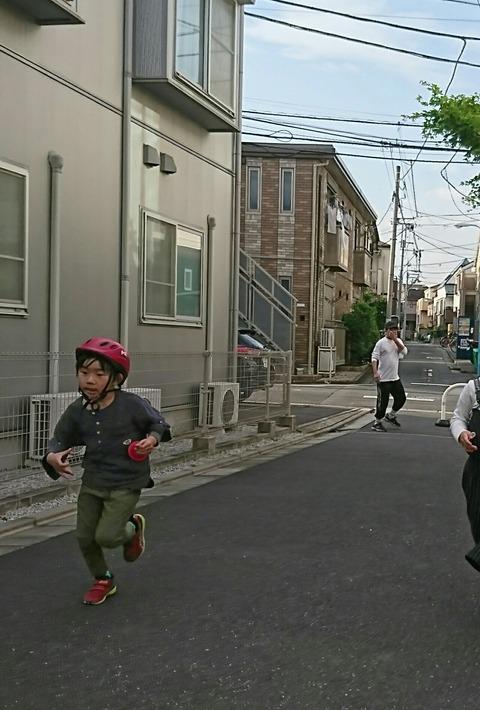 小1息子と学校ごっこ~体育~