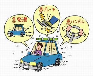 冬場の運転ss