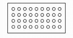 独立気泡の断面イメージ図