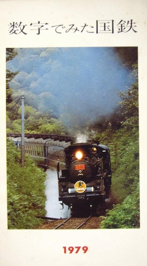 数字で見た国鉄1979