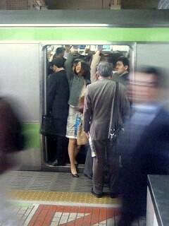痴漢 電車 上野