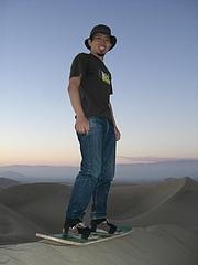 Huacachina (sandboard) 1