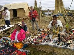 Titicaca lake (ウロス島) 2