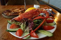 Kaikoura de crayfish