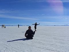 ウユニ塩湖 9