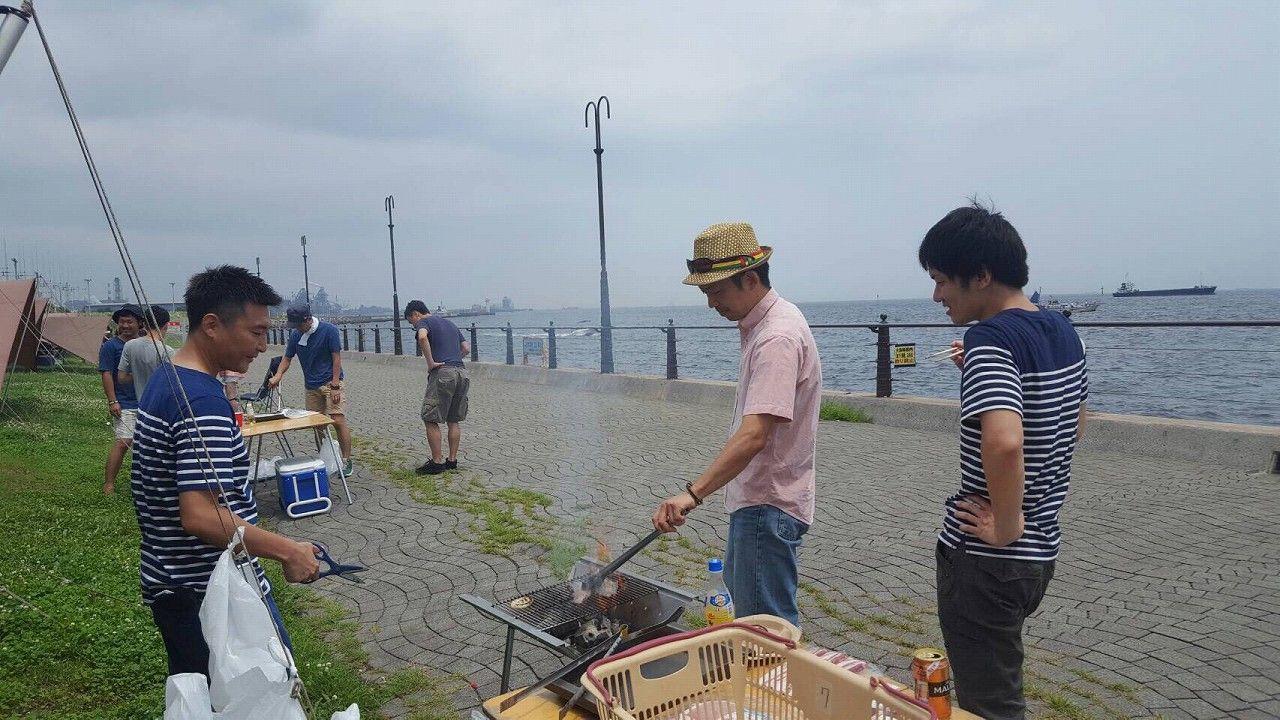 17 BBQ at 大黒ふ頭 4