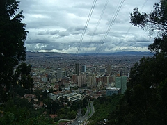 Bogota (Monserrate hill) 1