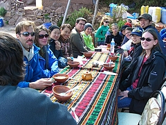 Titicaca lake (タキーレ島) 3