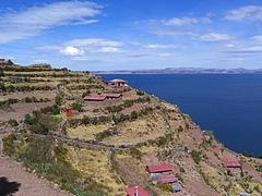 Titicaca lake (タキーレ島) 2
