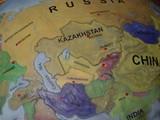 中央アジア地図