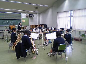 20061123都立四商吹奏楽部