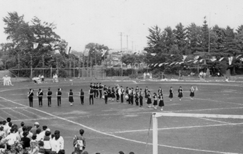 1965年体育祭マーチング・ドリル
