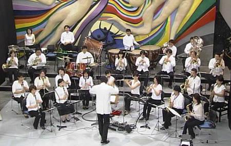 シエナウィンドがNHKのスタジオパークに生出演(2005年6月17日)