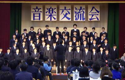 2005年12月16日石神井養護学校音楽交流会