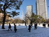 雪の錦糸公園2