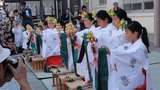 猿江神社巫女舞