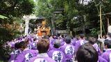 天祖神社宮入6