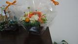 オープンお花