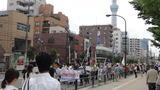 錦糸公園反核デモ2
