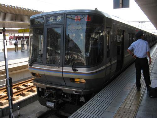 関西中心の鉄道写真:姫路から岡...
