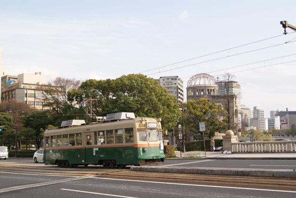 関西中心の鉄道写真:被爆電車 ...