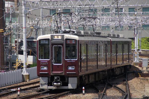 HK7007_35 阪急7000系7007F 阪急電車に、久しぶりの新型車両が登場するよう...