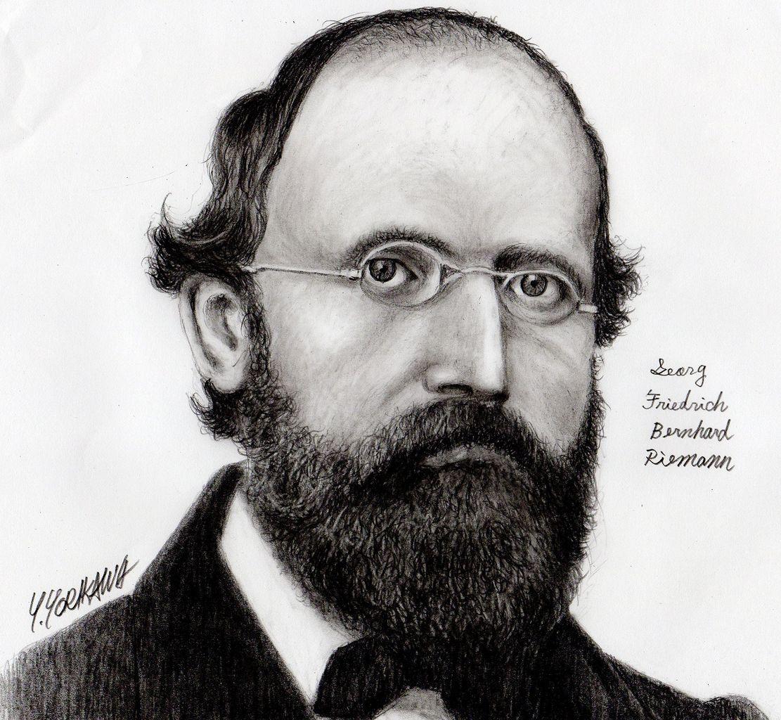 Bernhard Riemann ベルンハルト・リーマン : ネット絵師・独言の鉛筆画