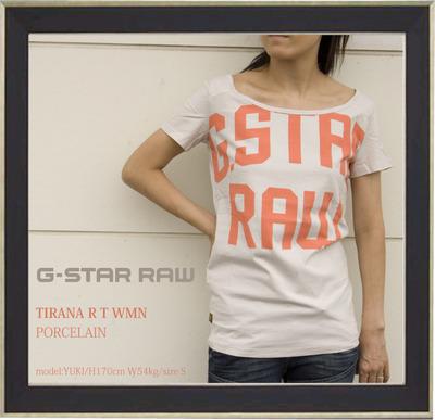 gstar襟広Tシャツp1