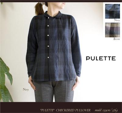 pulチェックシャツ1