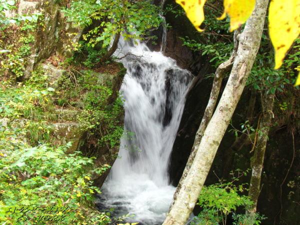 5412落合渓谷の滝141026
