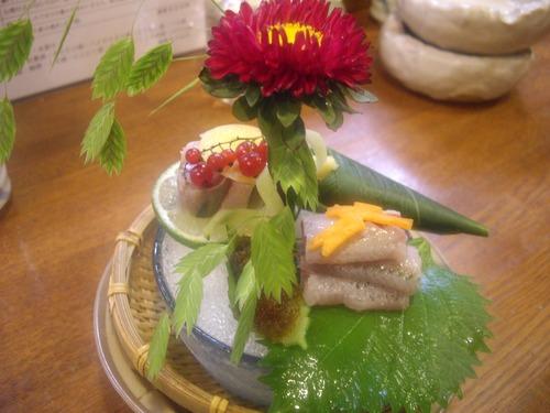 『長屋』(新橋)鰯の刺身