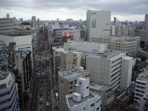 高島屋タイムズスクエアから見た新宿の風景1