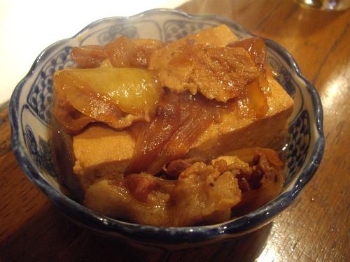 『うけもち』(水道橋)肉豆腐