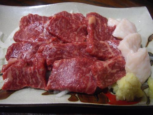 『川太郎』(新宿)馬刺