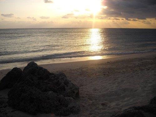 夜明けの風景(船倉海岸)