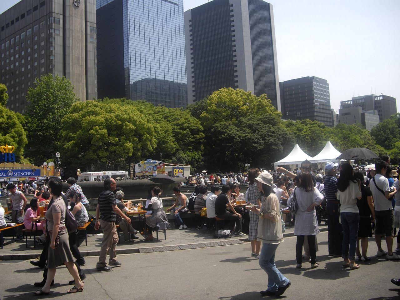 『日比谷オクトーバーフェスト2011』会場風景