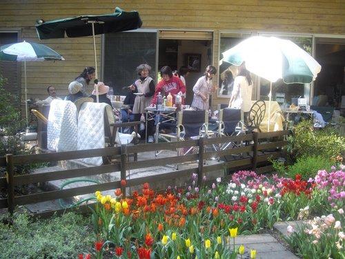 『チューリップ祭』(春日部)バーベキュー