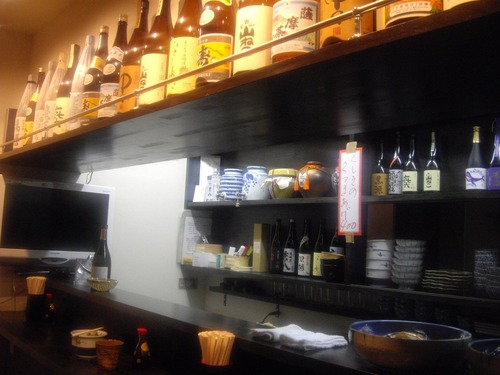 『立』(新橋)店内2
