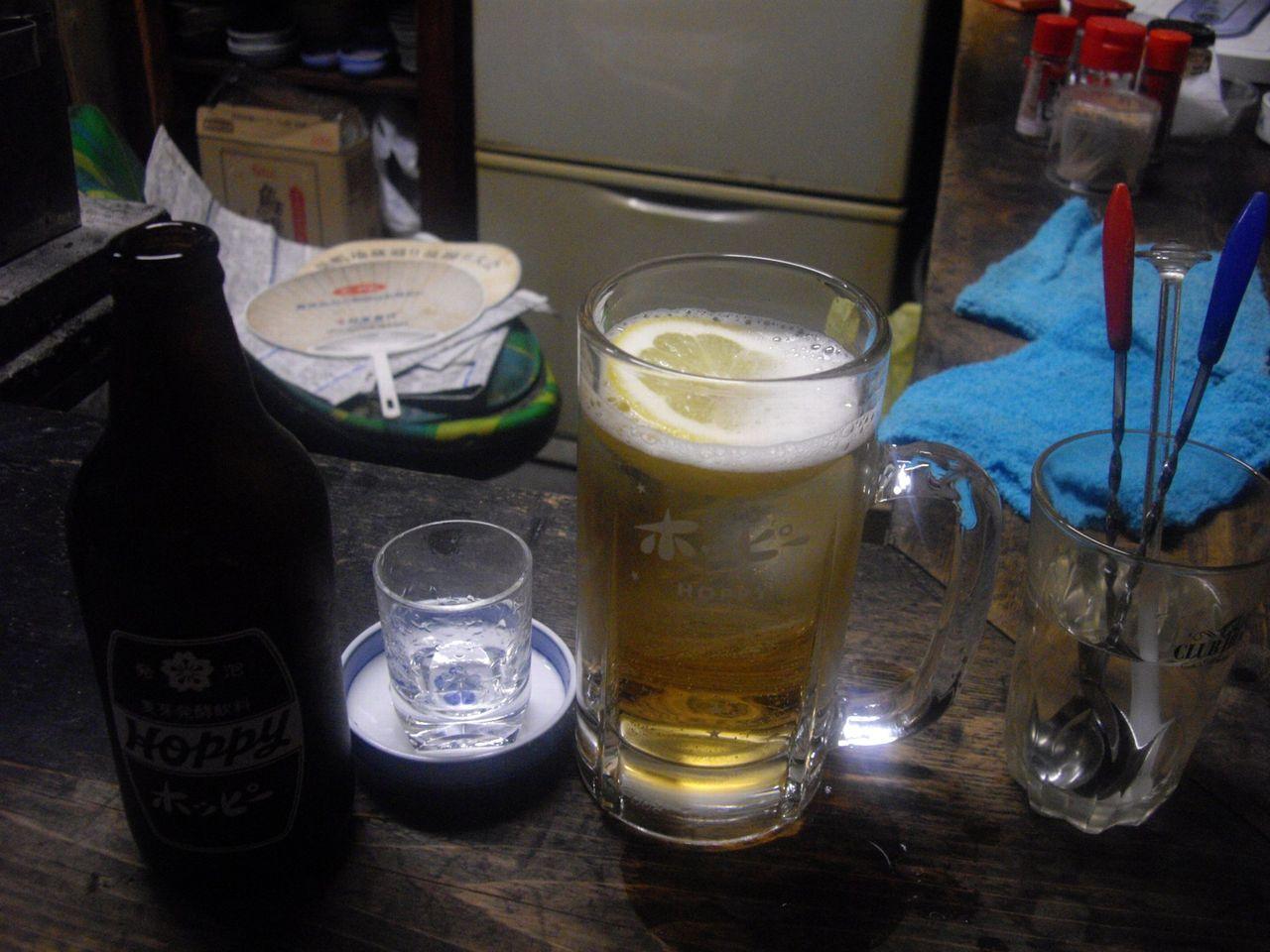 『庚申酒場』(庚申塚)ホッピー2