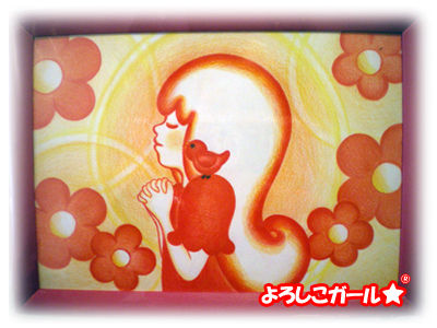 よろしこガール☆ 祈り 原宿での展示作品