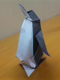 ヨログ!! ~よろず不動産のブログ~:第3回 折り紙「ペンギン ...