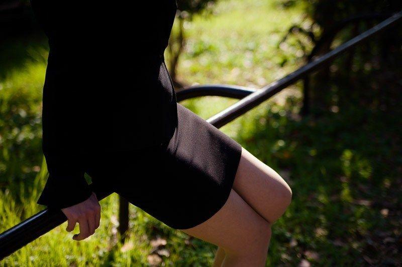 【画像あり】OLの脚とJKの脚どっちが好き?