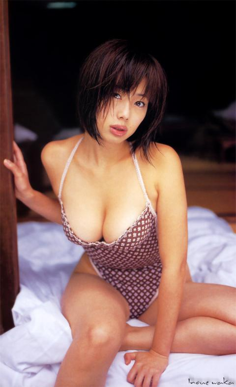 井上和香(36)「もうアイコラはやめて…」⇒最も作成された垂れ巨乳グラドル…