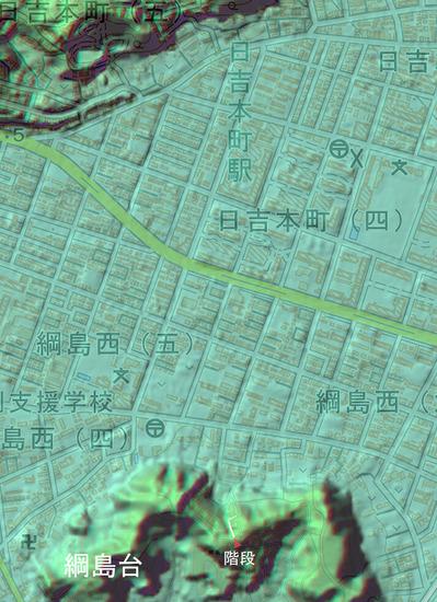 0814_綱島台の谷階段_1