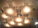 会場の照明