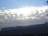 光り輝く朝の風景
